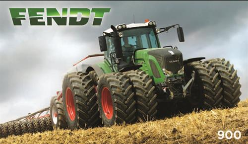 For REAL power test drive a Fendt