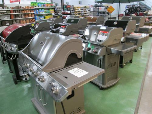The area's largest Grill selection