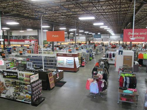 Over 60,000 square feet of retail space