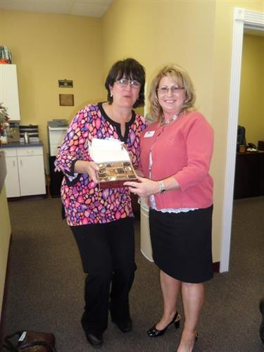 Becky deVries - Winner of the Chocolaterie Stam chocolates