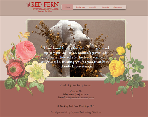 RedFernPetSitting.com