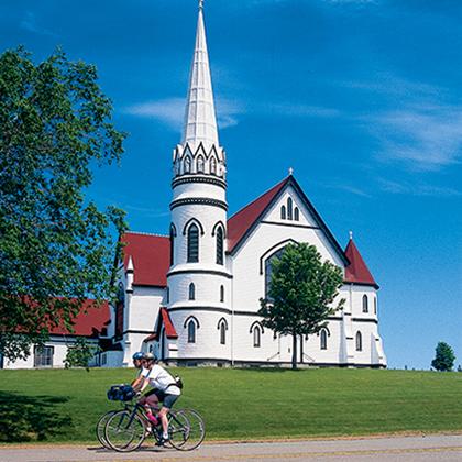 Biking Prince Edward Island