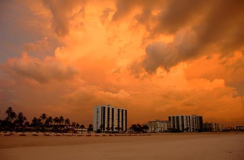 Beach Skies
