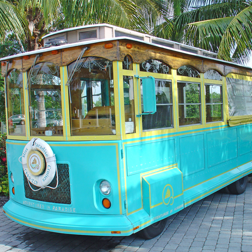 Trolley Tours of Sanibel Island!