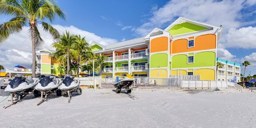 Rent Jet Skis, Umbrellas, and Beach Chairs just behind the Pierview Hotel & Suites