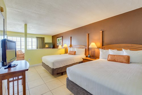 Book a Beachfront Suite to be steps from the sand of Ft. Myers Beach