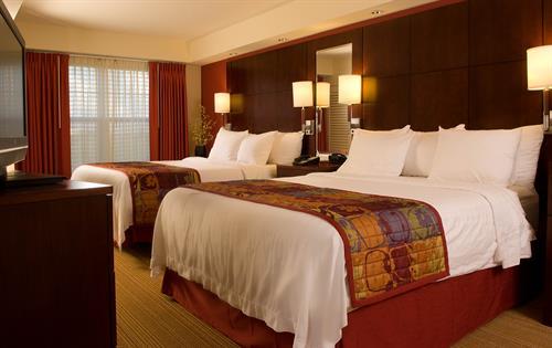 One Bedroom Two Queen Beds