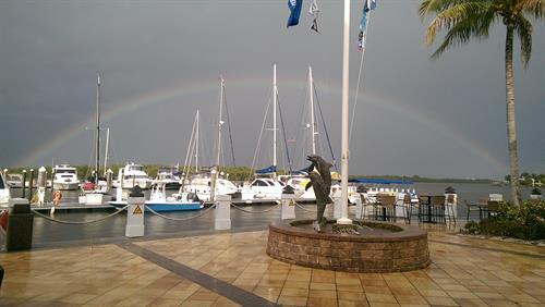 Waterfront Promenade overlooking Estero Bay