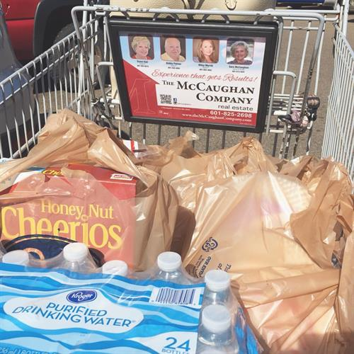 Be sure to grab a McCaughan sponsored buggy at Kroger!