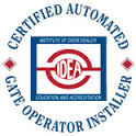 Jefcoat Fence Company has certified gate operator technicians