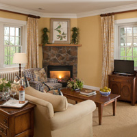The Dutch Cottage Living Room