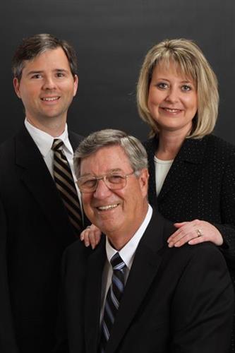 Angela Bender- President; John Mullis- CEO; Brett Bender- COO