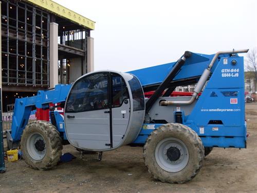 8000lb Rought Terrain Forklift