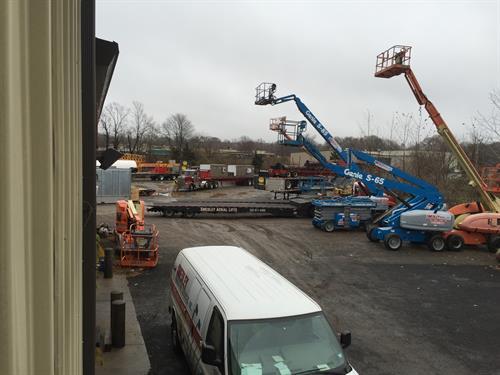 Aerial Lift Yard