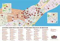 Stevens Downtown Madison Project Map