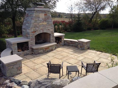 Outdoor kitchens, yes we can!