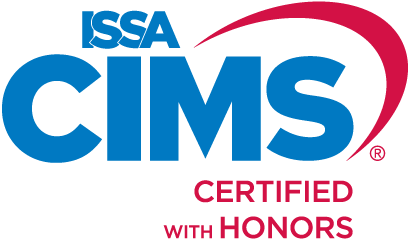 KleenMark is proud to be ISSA CIMS Certified with Honors for our standards, management and abilities.