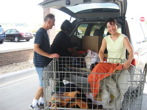Put your unwanted clothing and other items to good use - donate them to Goodwill!  Most of our revenue is generated through the sale of donated goods.