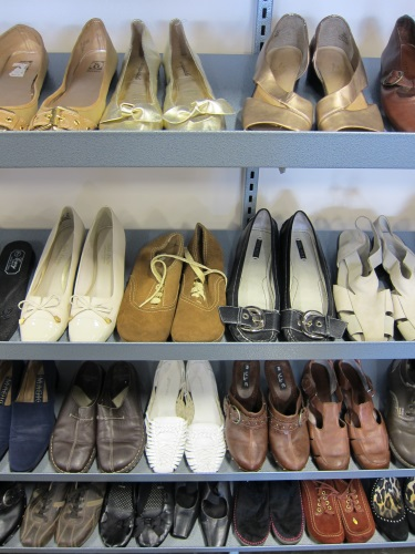 Make your feet happy - shop at Goodwill!