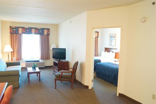 One Bedroom Suite with 2 Queen Beds