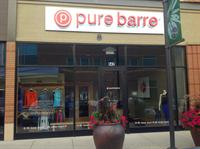Pure Barre Madison Hilldale storefront!