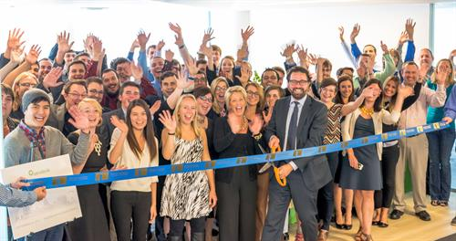Ribbon Cutting Ceremony, September 2014