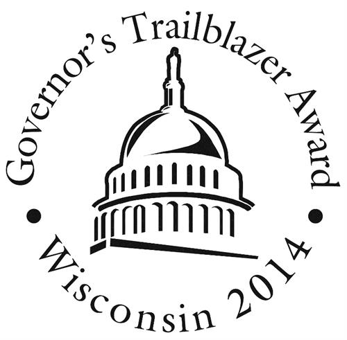 2014 Governor's Trailblazer Award Recipient