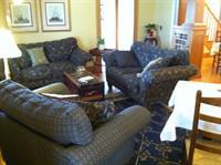 Plenty of comfortable gathering space