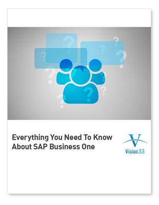 Everything You Need to Know About SAP Business One - FAQ