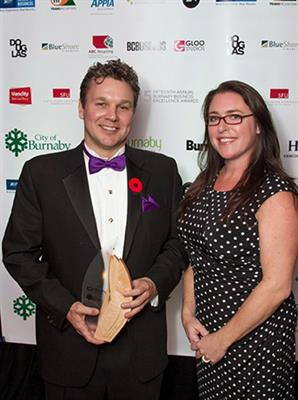 Business of the Year - Burnaby Board of Trade 15th Annual Business Excellence Awards