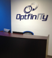OptfinITy's new office.