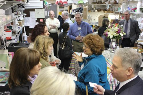 Jan. 21, 2016 networking mixer at Flowers n Ferns