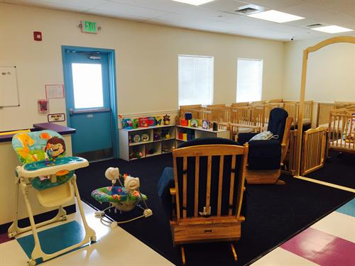 Infant classroom starting at 6 weeks