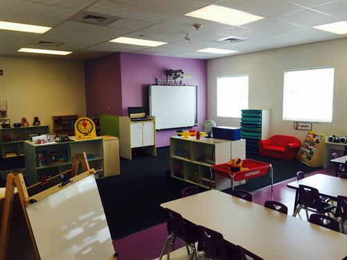 Pre-Kindergarten equipped with Smart Boards