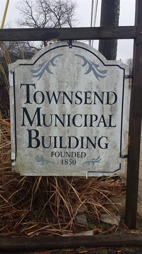 Townsend Municiplal Bulding Sign