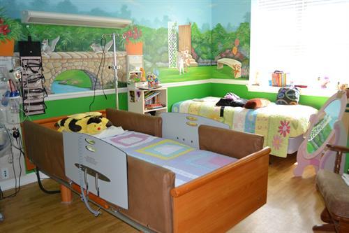 ECC Resident Bedroom