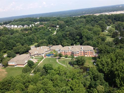 View of Exceptional Care for Children from above