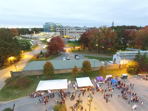 AI DuPont Hospital --- Walk for the Cure --- DRONE view