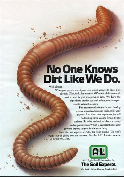 No one knows dirt like we do!