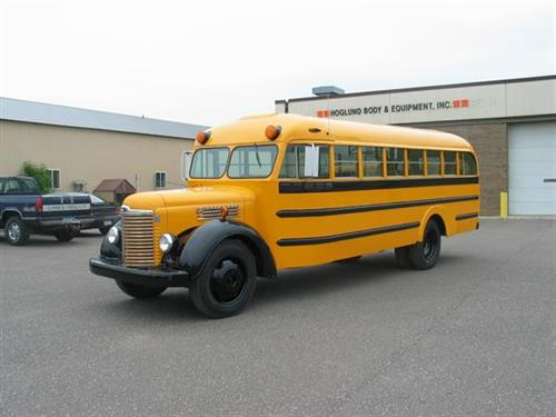 School Bus Restoration Project