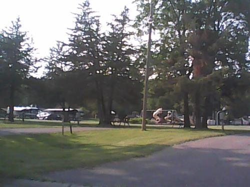 Some sites , looking toward playground.