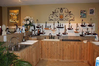 Kitchen faucets & sinks, some faucets that function, some simply displayed.  Come try us out.