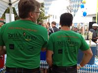 Team Tori sporting their uniform. Oktoberfest 2013