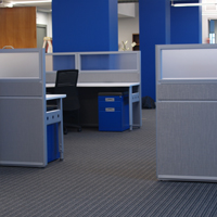ICR + Furniture: carpet, paint, furniture coordination