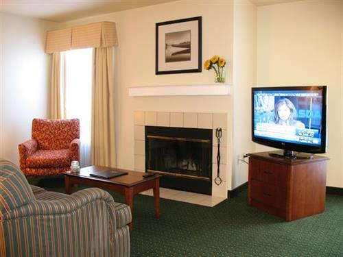 All suites feature living area with large high definition televisions and pullout sleeper sofas.