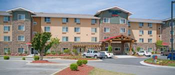 TownePlace Suites located off Skibo next to Cracker Barrel and Logan's Restaurants