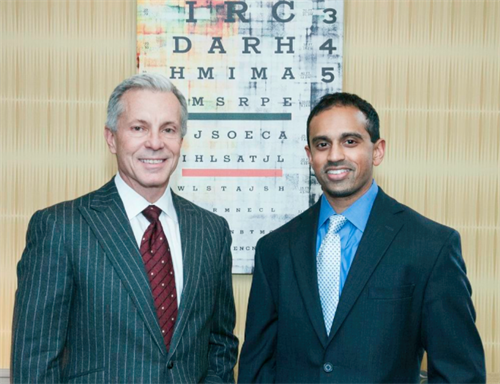 Owners Dr. J. Wayne Riggins and Dr. Sheel Patel
