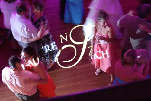 Monograms - Dance Floor  and Professional DJ Services