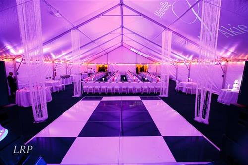 Lighting and Dance Floor Rentals