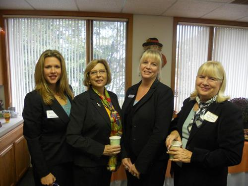 Some great ladies at a GCCC Before Hours Networking Event
